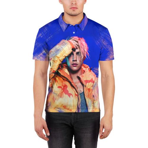 Мужская рубашка поло 3D  Фото 03, Justin Bieber