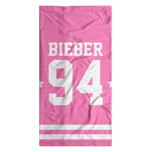 Бандана-труба 3D  Фото 07, Bieber Team Pink