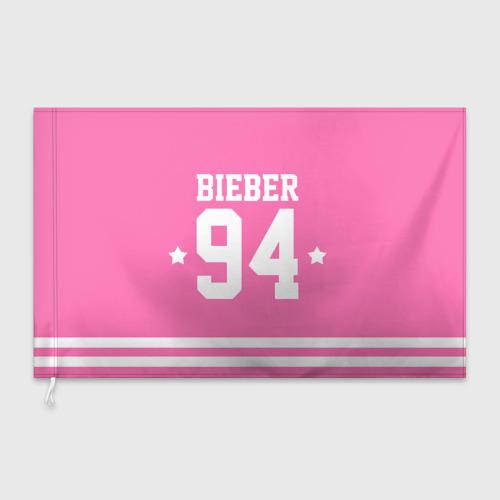 Флаг 3D  Фото 03, Bieber Team Pink