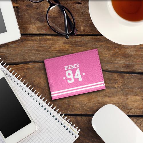 Обложка для студенческого билета  Фото 03, Bieber Team Pink