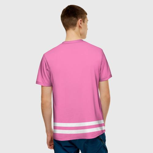 Мужская футболка 3D  Фото 02, Bieber Team Pink