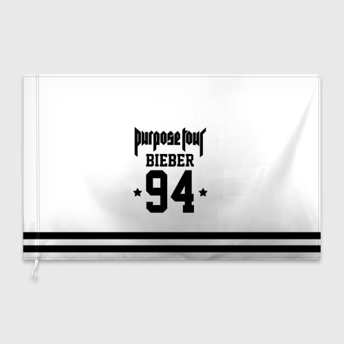 Флаг 3D  Фото 03, Bieber Team White