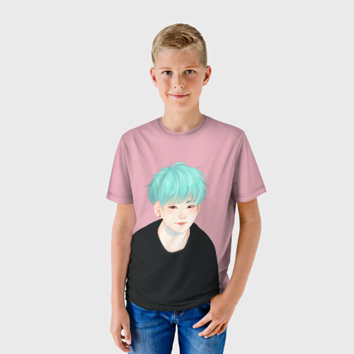 Детская футболка 3D BTS_Yoongi