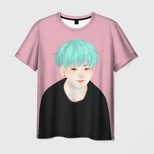 Мужская футболка 3D BTS_Yoongi