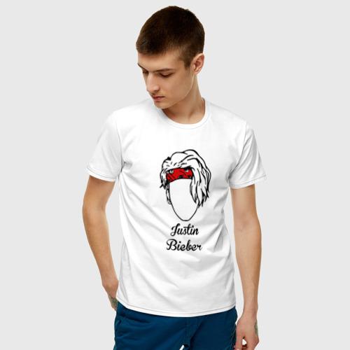 Мужская футболка хлопок Justin Bieber Фото 01