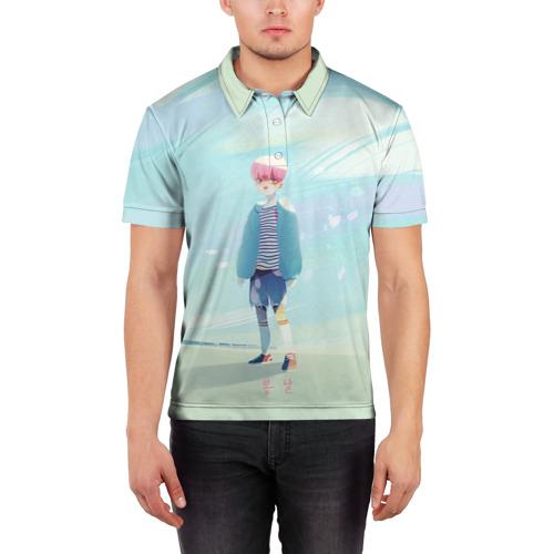 Мужская рубашка поло 3D  Фото 03, BTS_Jimin_4