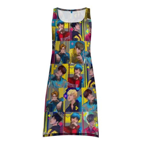 Платье-майка 3D Bangtan Boys
