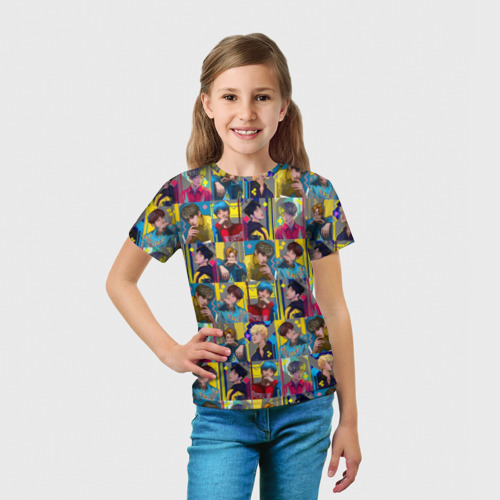 Детская футболка 3D  Фото 03, Bangtan Boys