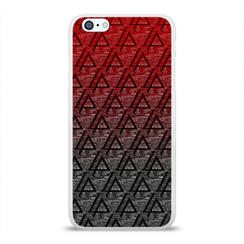 Чехол для Apple iPhone 6Plus/6SPlus силиконовый глянцевый Linkin park Music  Фото 01