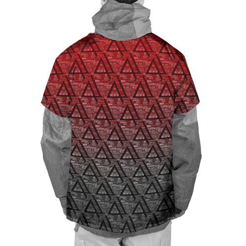 Накидка на куртку 3D Linkin park Music  Фото 01