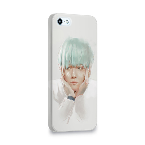Чехол для Apple iPhone 5/5S 3D  Фото 02, Suga_BTS_