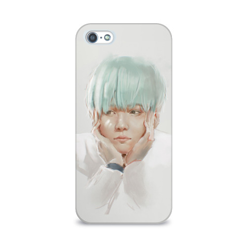 Чехол для Apple iPhone 5/5S 3D  Фото 01, Suga_BTS_