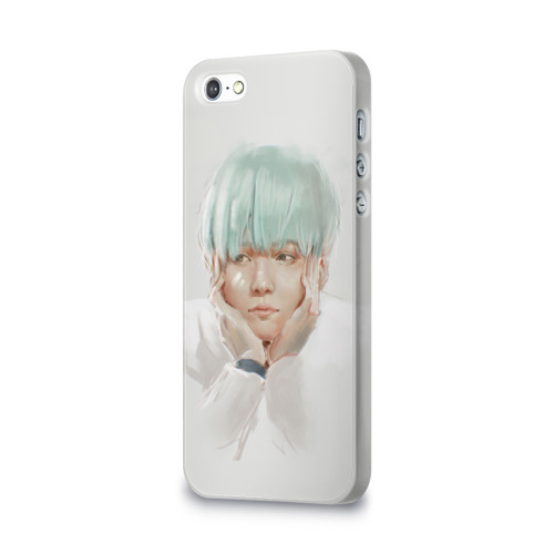 Чехол для Apple iPhone 5/5S 3D  Фото 03, Suga_BTS_