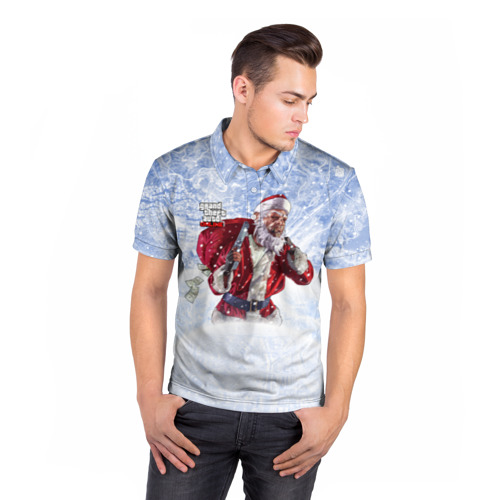 Мужская рубашка поло 3D  Фото 05, GTA 5 Online