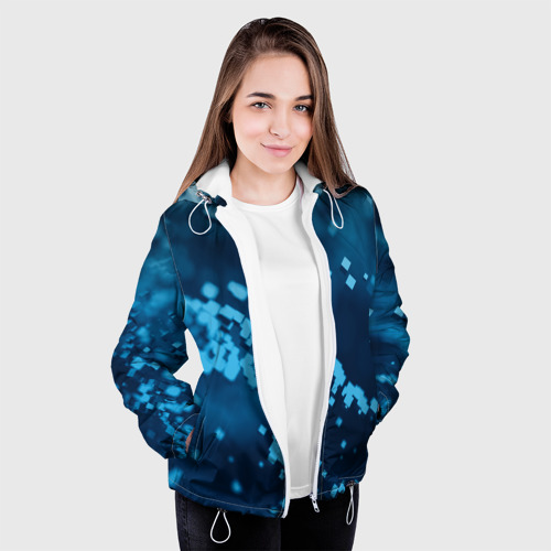 Женская куртка 3D  Фото 04, Нано кубический