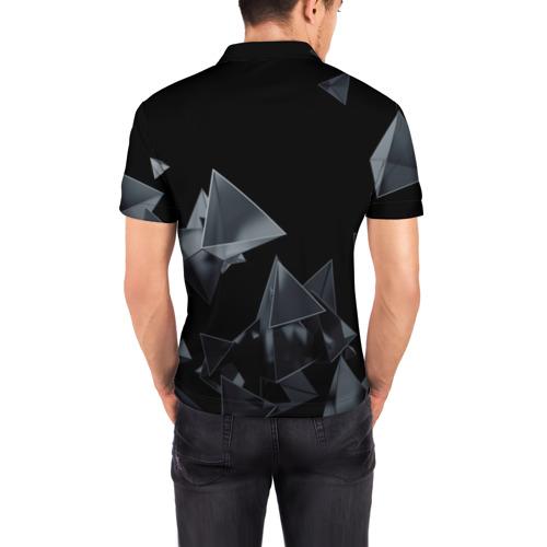 Мужская рубашка поло 3D  Фото 04, GEOMETRY 0NE