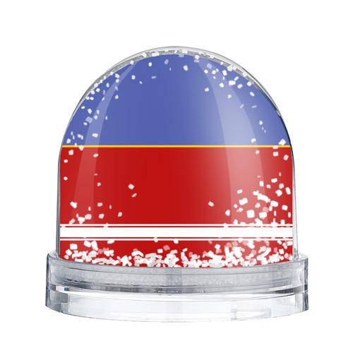 Водяной шар со снегом  Фото 02, Хоккеист Пётр