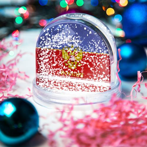 Водяной шар со снегом  Фото 04, Хоккеист Пётр