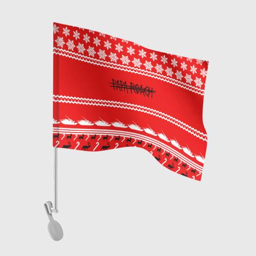 Флаг для автомобиля  Фото 01, Праздничный Papa Roach