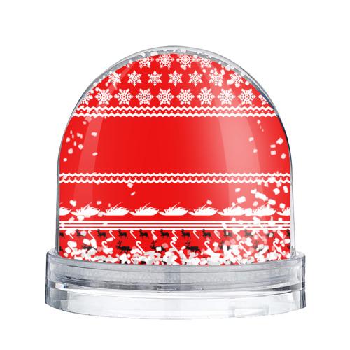 Водяной шар со снегом  Фото 02, Праздничный Papa Roach