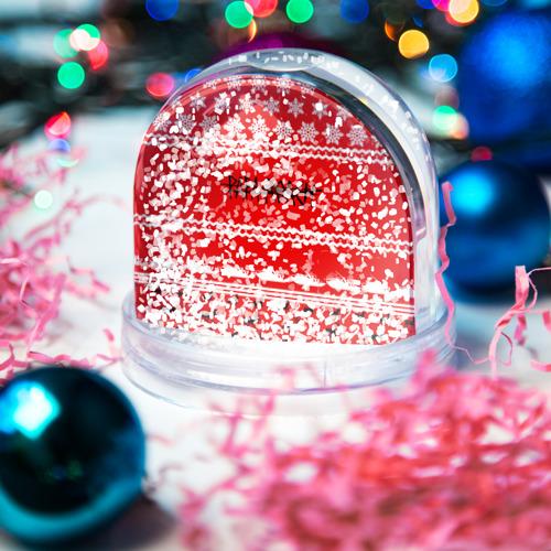 Водяной шар со снегом  Фото 04, Праздничный Papa Roach
