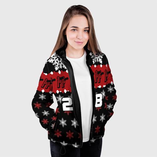 Женская куртка 3D  Фото 04, Праздничный 228