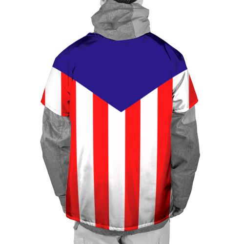 Накидка на куртку 3D Atletico Madrid Фото 01