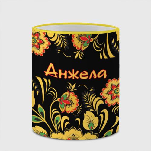 Кружка с полной запечаткой  Фото 03, Анжела, роспись под хохлому