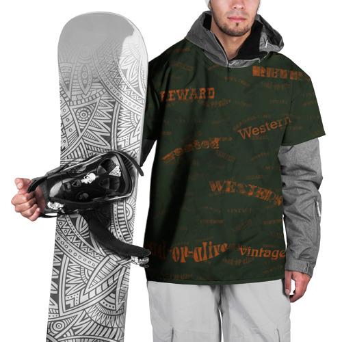Накидка на куртку 3D  Фото 01, Вестерн