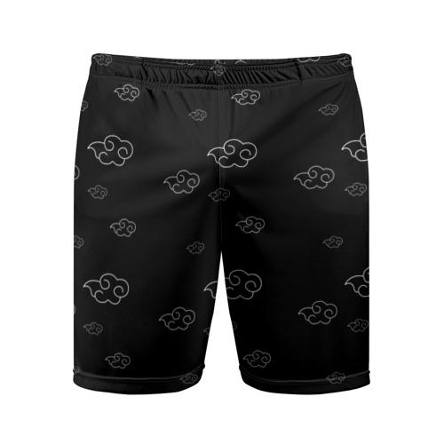 Мужские шорты 3D спортивные Akatsuki (Tsukuyomi mode)