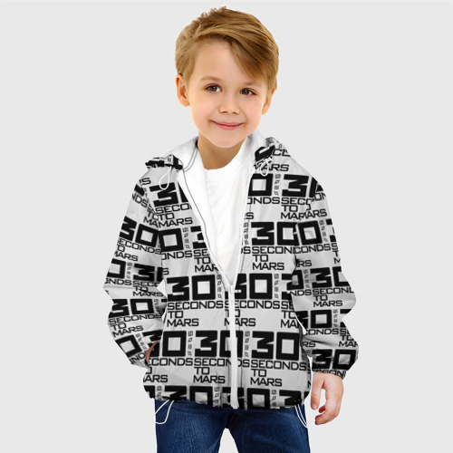 Детская куртка 3D  Фото 03, 30 SECONDS TO MARS ROCK BAND