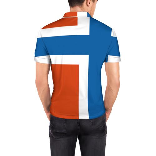 Мужская рубашка поло 3D  Фото 04, Норвегия