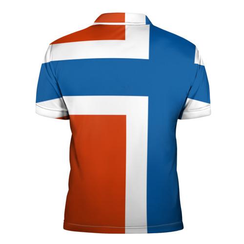 Мужская рубашка поло 3D  Фото 02, Норвегия