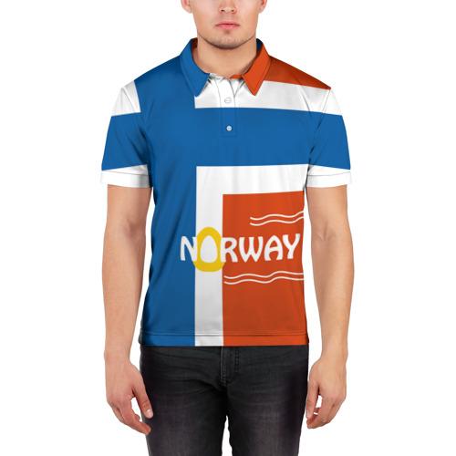 Мужская рубашка поло 3D  Фото 03, Норвегия