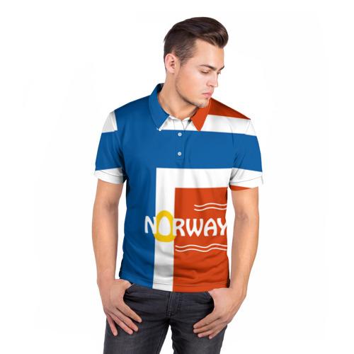 Мужская рубашка поло 3D  Фото 05, Норвегия