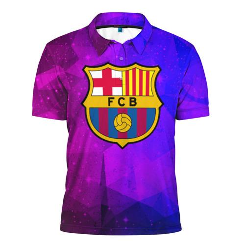 Мужская рубашка поло 3D  Фото 01, Барселона