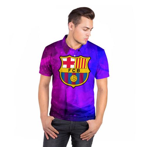 Мужская рубашка поло 3D  Фото 05, Барселона