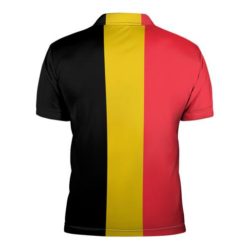 Мужская рубашка поло 3D  Фото 02, Сборная Бельгии