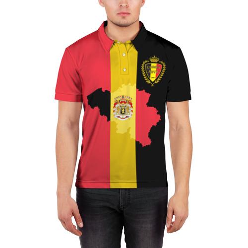 Мужская рубашка поло 3D  Фото 03, Сборная Бельгии