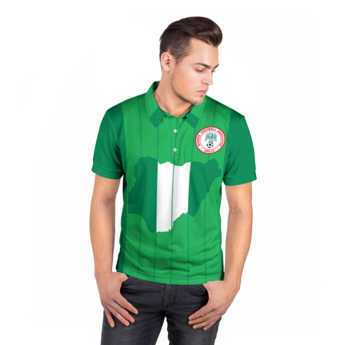 Мужская рубашка поло 3D  Фото 05, Нигерия, форма