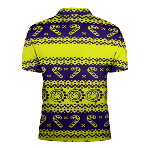 Мужская рубашка поло 3D  Фото 02, Blink-182 NEW YEAR COLLECTION