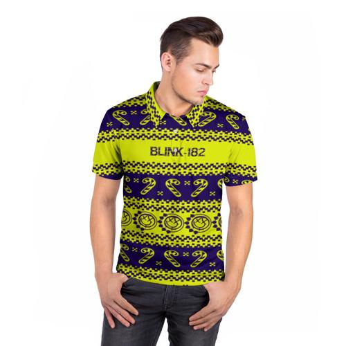 Мужская рубашка поло 3D  Фото 05, Blink-182 NEW YEAR COLLECTION