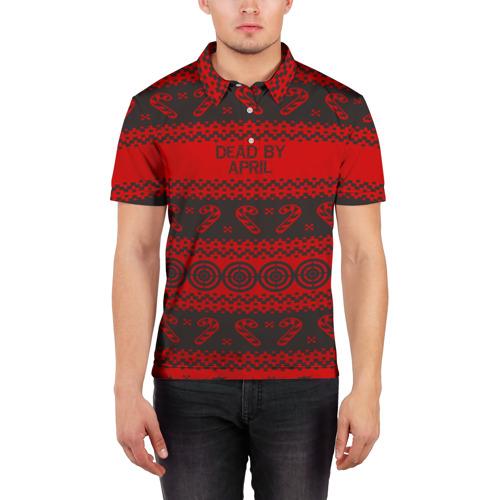 Мужская рубашка поло 3D  Фото 03, DEAD BY APRIL NEW YEAR 2018