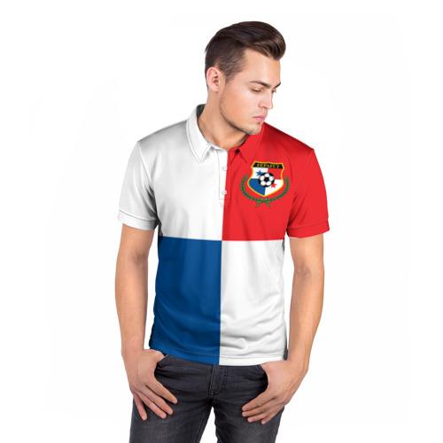 Мужская рубашка поло 3D  Фото 05, Панама, форма