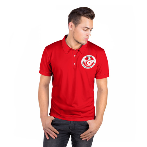 Мужская рубашка поло 3D  Фото 05, Тунис, форма