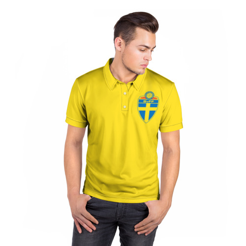Мужская рубашка поло 3D  Фото 05, Швеция, форма