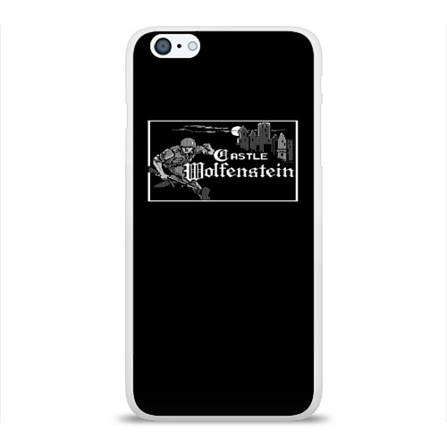 Чехол для Apple iPhone 6Plus/6SPlus силиконовый глянцевый  Фото 01, Wolfenstein
