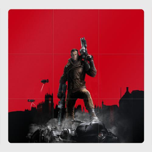 Магнитный плакат 3Х3 Wolfenstein