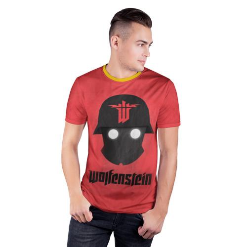 Мужская футболка 3D спортивная Wolfenstein Фото 01