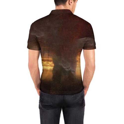 Мужская рубашка поло 3D  Фото 04, Wolfenstein